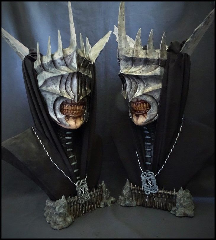 Mouth of Sauron lifesize bust (LOTR) Mouth_40