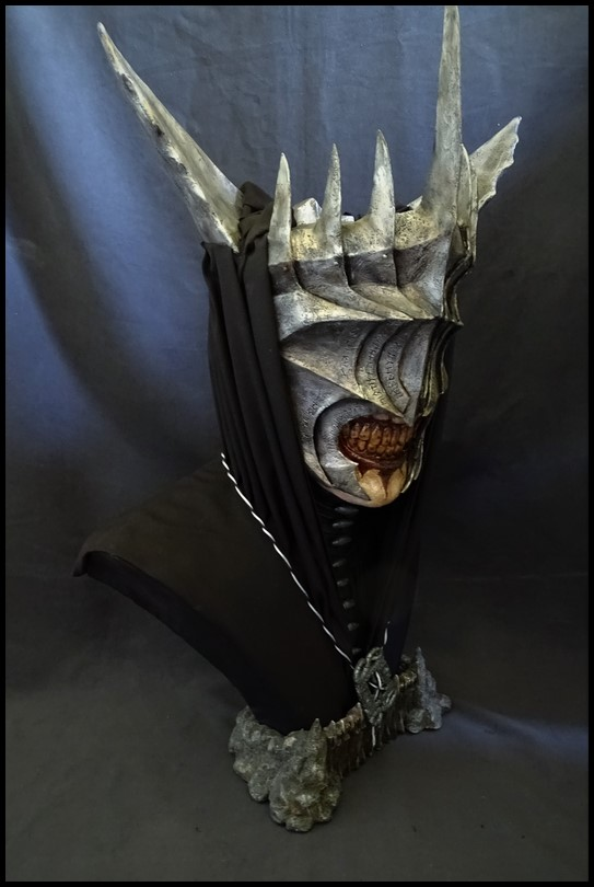 Mouth of Sauron lifesize bust (LOTR) Mouth_41
