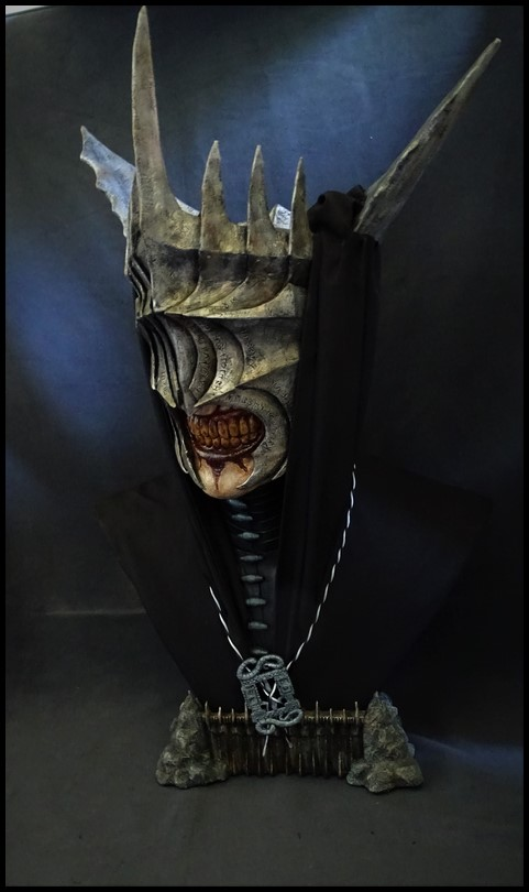 Mouth of Sauron lifesize bust (LOTR) Mouth_42