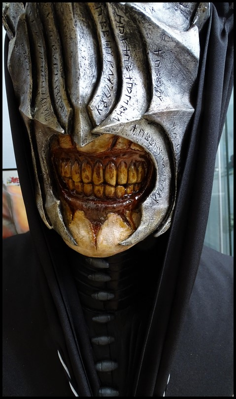 Mouth of Sauron lifesize bust (LOTR) Mouth_43