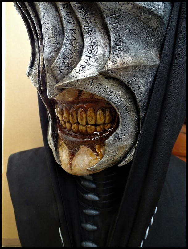 Mouth of Sauron lifesize bust (LOTR) Mouth_46