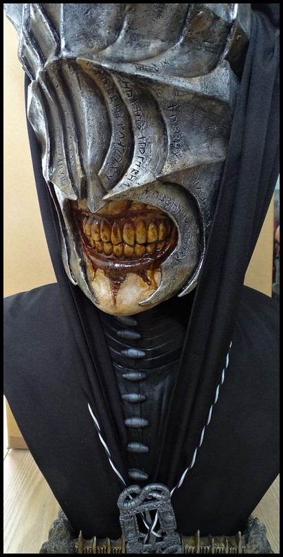 Mouth of Sauron lifesize bust (LOTR) Mouth_47