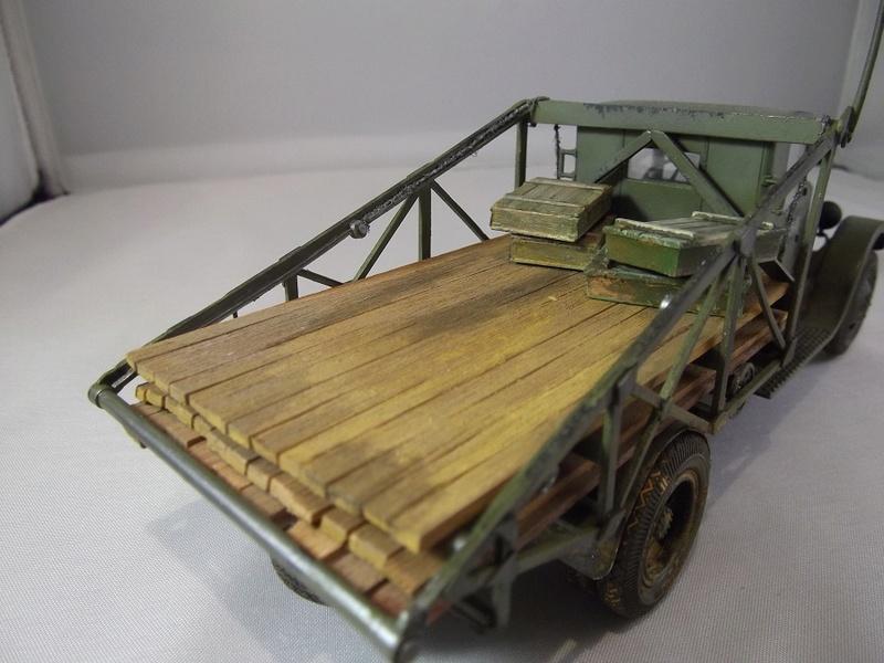 Специальный грузовик на базе ЗИС 5 для перевозки понтонов Zis-5_46