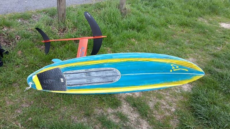 Alkita : Planche de surf convertible foil, de la bombe! 20170311