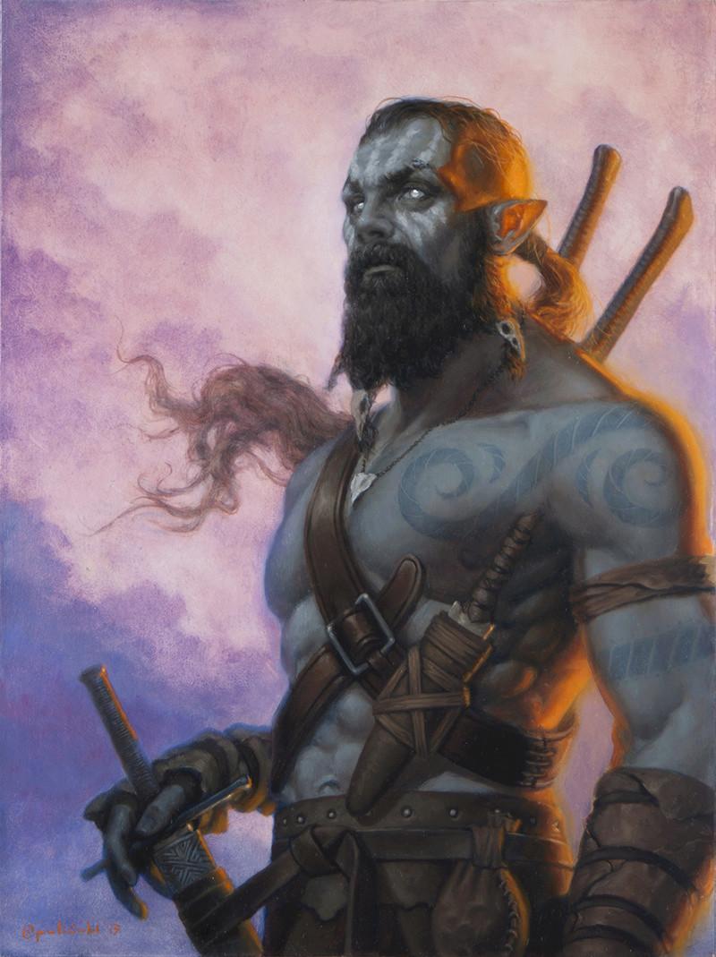Qaleteqa, the half-orc fighter Half_o10