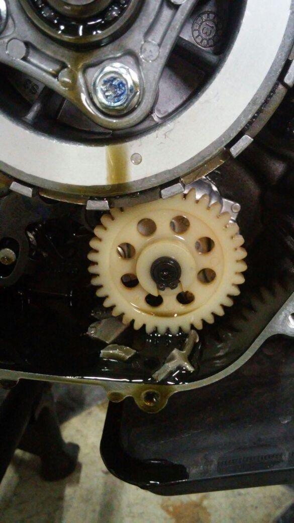 Primer y segundo cambio de aceite A719ed11