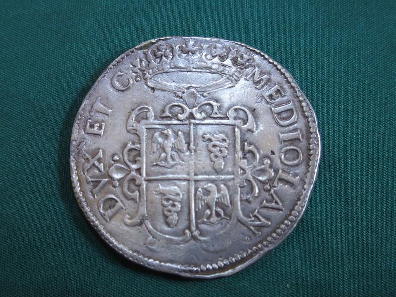 Felipe IV. Ducaton Milán 1622 P5280512
