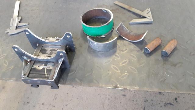 Mortier 80mm allemand (replique) 2610