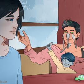 Magnus Bane et Alec Lightwood Tumblr15