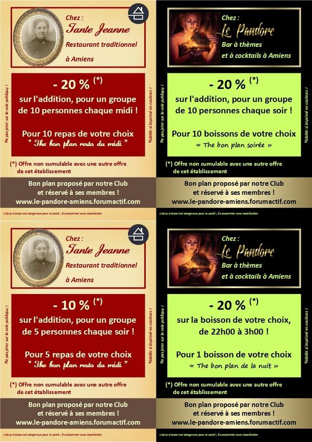 #BonPlan #BonPlanDuJour : 29/03/2017 (LE PANDORE) (TANTE JEANNE) Le_pan11