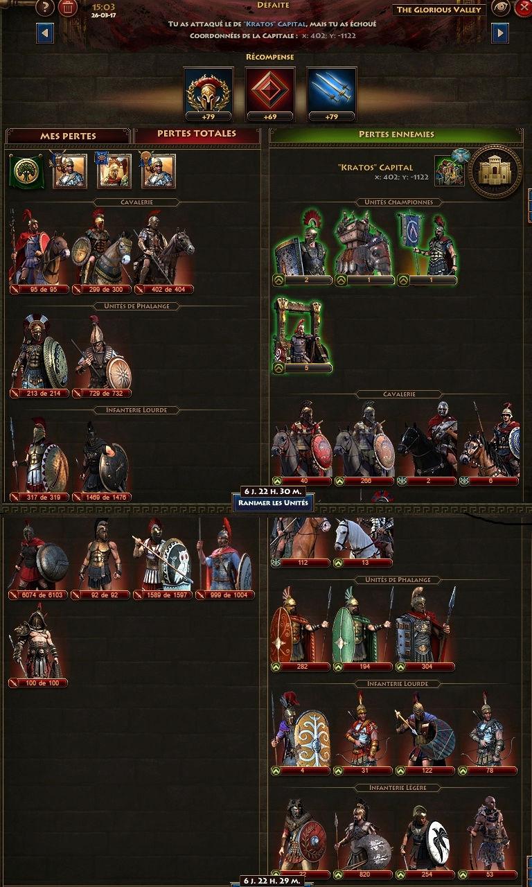 korrigans contre kratos Raid110