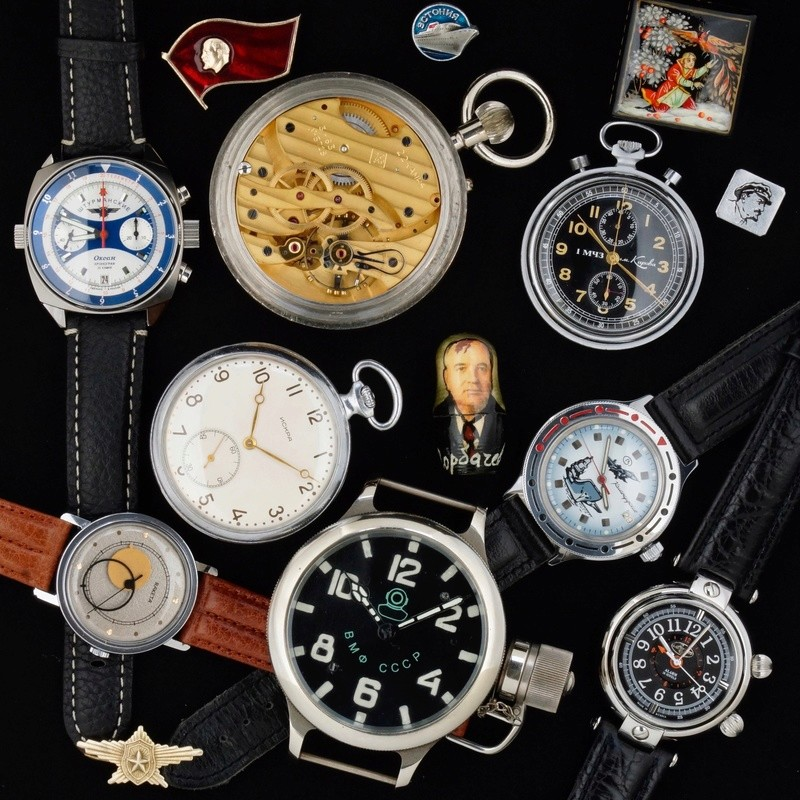 Exposition-vente horlogerie russe 14903412