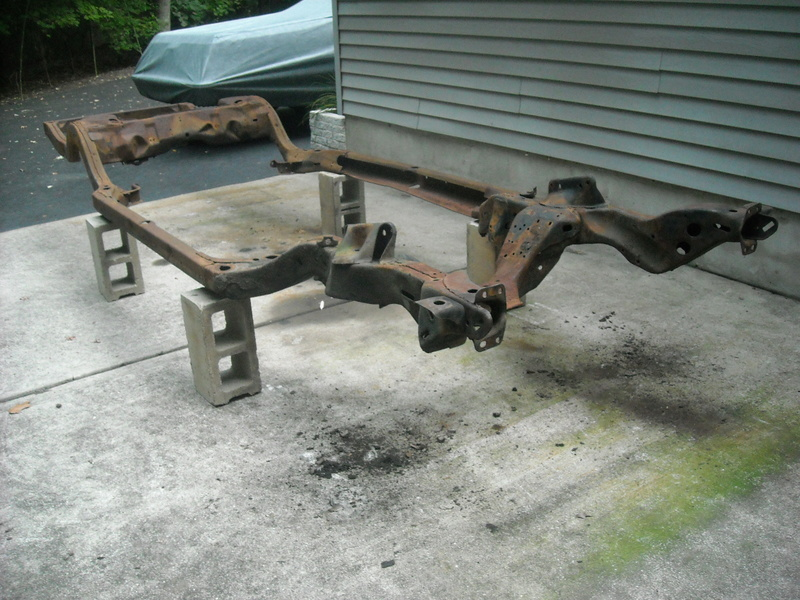1977 el Camino Chassis Frame - CLEAN & SOLID - $175 SOLD! 77_fra11