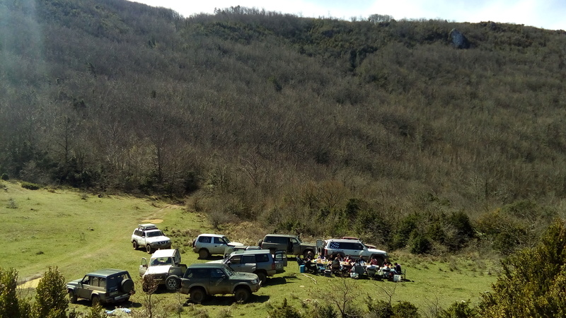 sortie châteaux cathares 25-26/03/2017 Img_2018