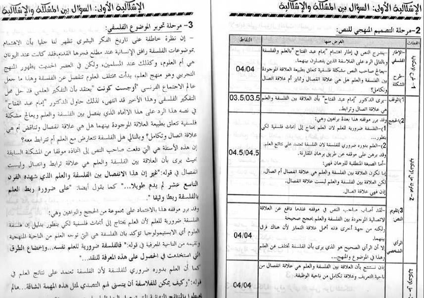 كتاب السامي في الفلسفة ثالثة ثانوي شعب علمية Bandi210