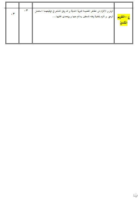 مادة اللغة العربية و آدابها سنة 3 ثانوي موضوع إختبار في اللغة العربية للفصل الأول شعبة آداب و لغات أجنبية مع التصحيح Bandi440
