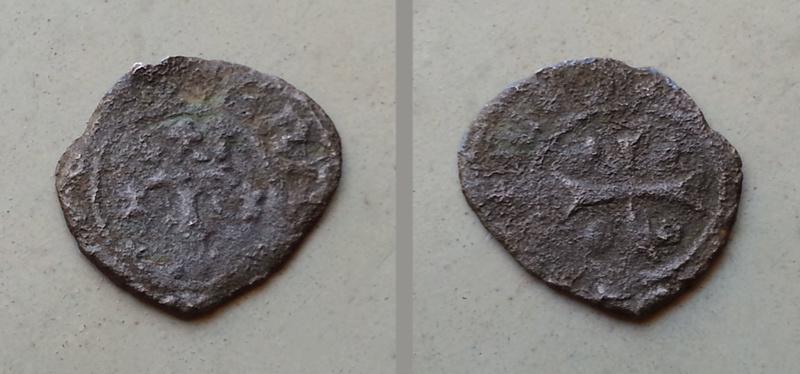 Cornado  de Carlos I, ceca de  Navarra. Descon11