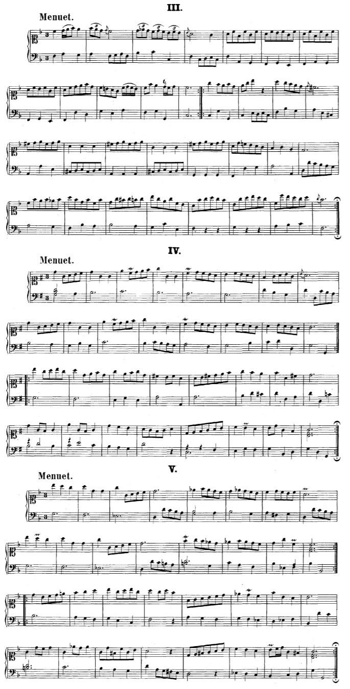 O pequeno álbum Anna Madalena Bach na Clave de Dó primeira linha e Clave de Fá na quarta linha / Analise dos Ornamentos Anna_m10