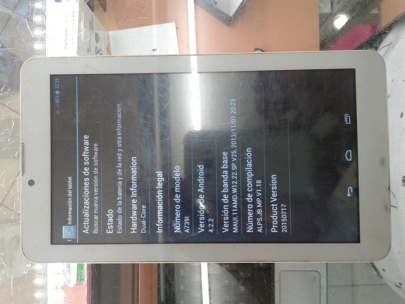 Firmware tablet Q718 MB V1.1 2014-07-24 20170310