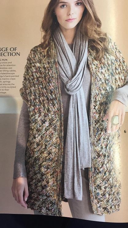 patron - Duda patrón en inglés revista Vogue Knitting Imagen11