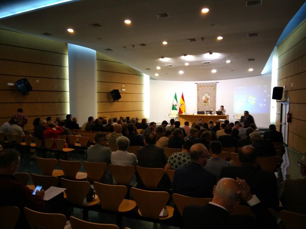Presentación del Programa Integral de Silicosis de Andalucia (PISA) Esta210