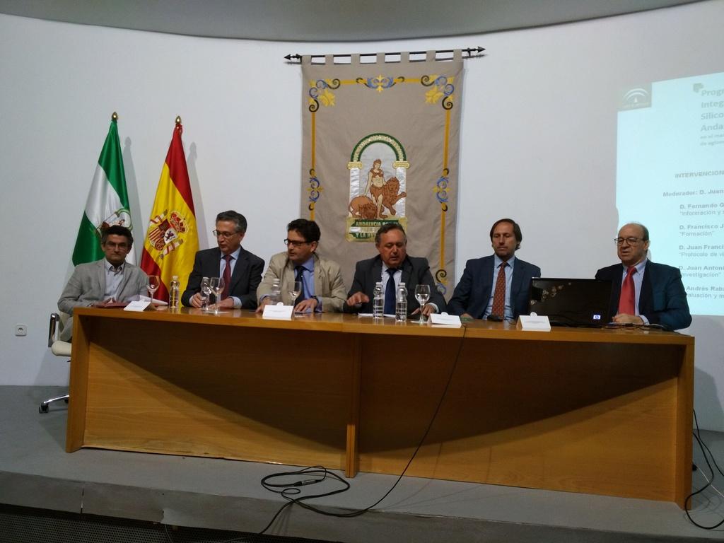 Presentación del Programa Integral de Silicosis de Andalucia (PISA) Esta510