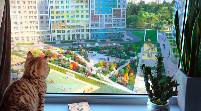 """Собственный парк на прилегающей территории ЖК """"Летний сад"""" 97c76110"""