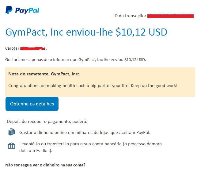"""[Testar ] Pact - Sistema de apostas para """"promover um estilo de vida saudável""""! Pay110"""
