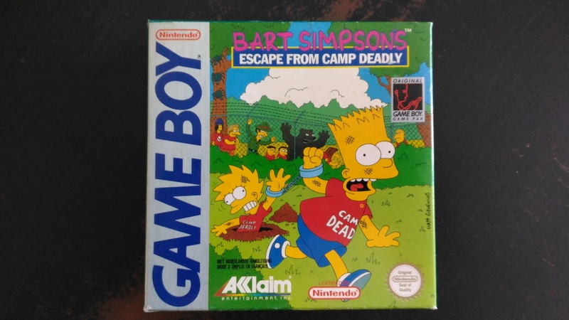 Game Boy (classic) Petite collection... Bart_e10