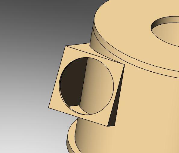 découpe sur forme cylindrique Aspira10