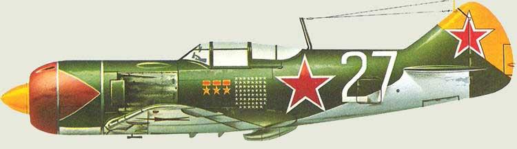 """Ла-7 1/48 Academy """"дрова с дополнениями"""" La_70010"""