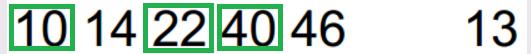 Desdobramentos de Chaves Aleatórias / Totoloto 13_310
