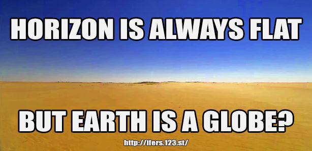 Flat Earth Memes - Page 2 Horizo10