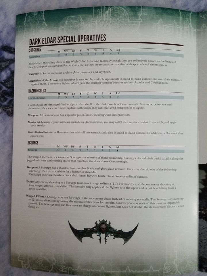 leaked Dark Eldar rules for Shadow War: Armageddon De510