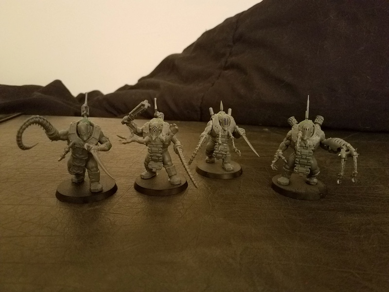 WIP Grotesques made from Bullgryns/Ogryns Grot211