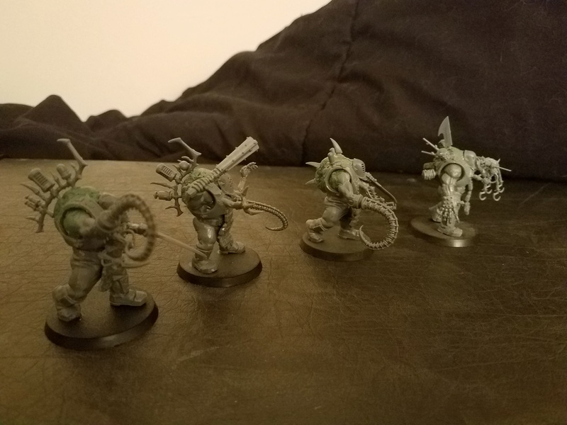 WIP Grotesques made from Bullgryns/Ogryns Grot311