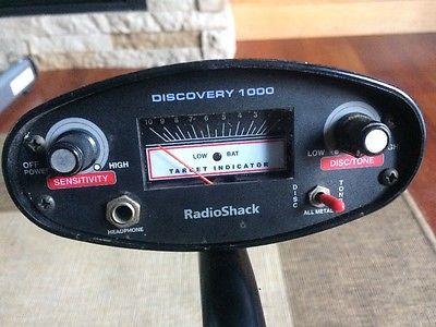 DE LA SERIE DE DETECTORES  QUE SACO RADIOSHACK  DISCOVERY 1000, 2000 Y 3000, CUAL.... Radio-10