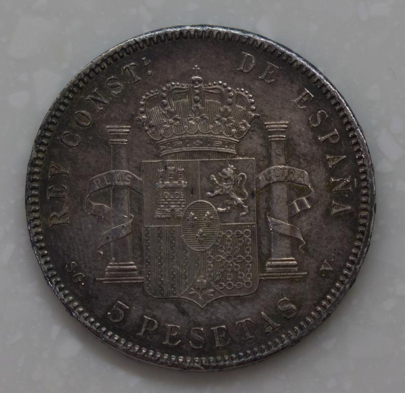 5 Pesetas 1898. Alfonso XIII. SGV Dsc03512