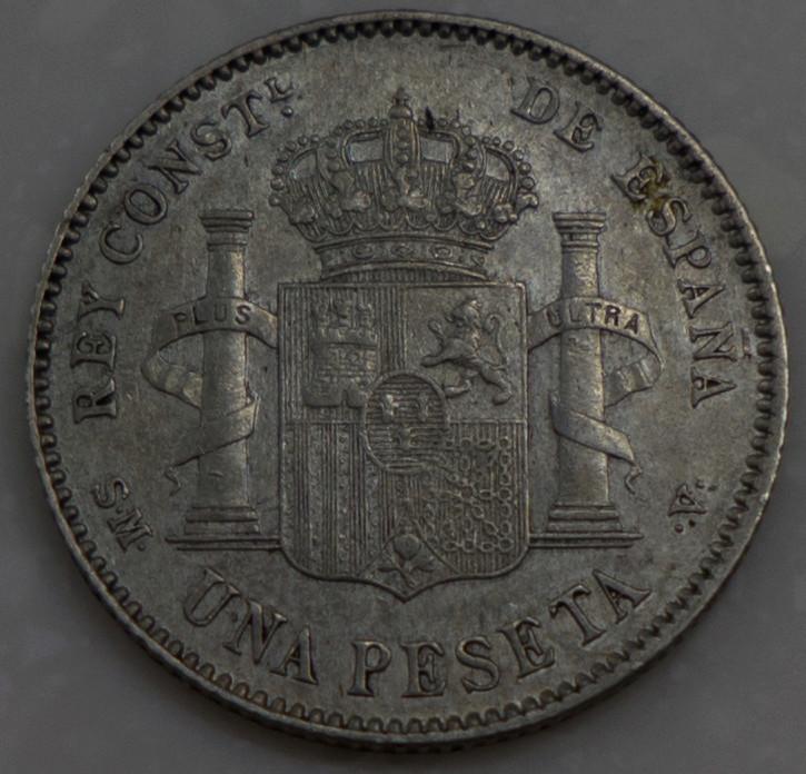 1 peseta 1903. Alfonso XIII Dsc03611