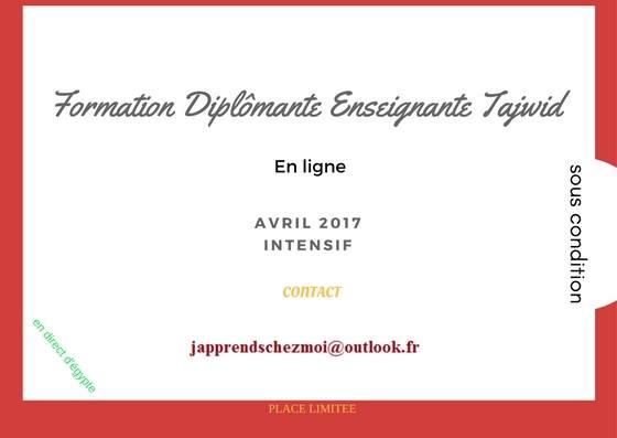 Formation Diplômante Enseignantes Tajwid (sous condition) 17353610
