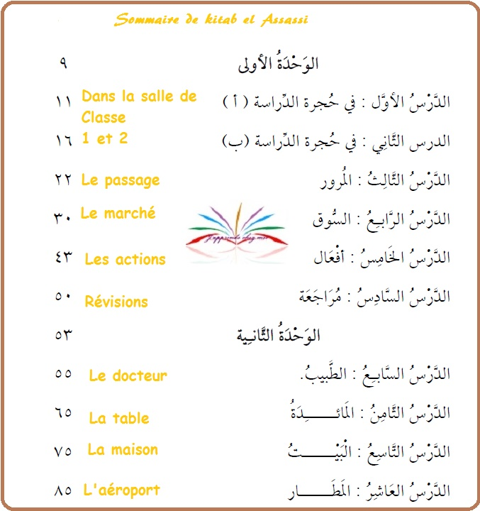 Sommaire du cours  9aab1d10
