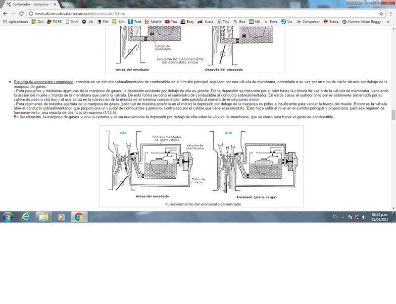 Pieza misteriosa de carburador H 30 PICS Econos10