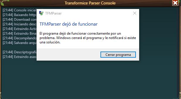 TFM Parser Beta Tfm_pa10