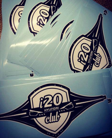 PEGATINAS DEL CLUB I20 Captur11