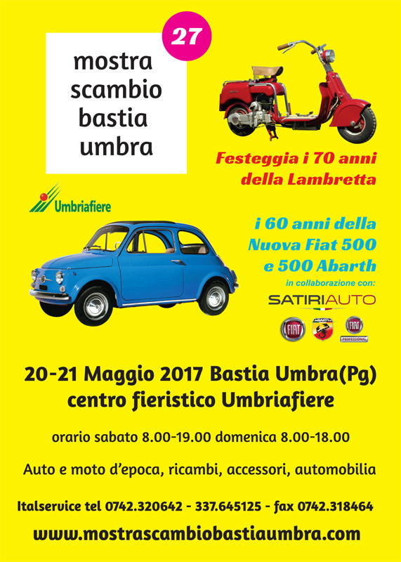 27° MOSTRA SCAMBIO AUTO E MOTO D'EPOCA BASTIA UMBRA Volant10