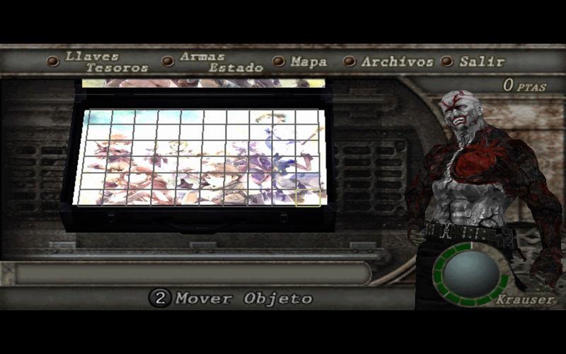 Como cambiar el maletin de nuestro Resident Evil 4 Muestr10