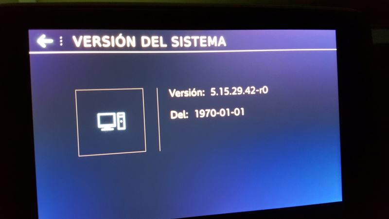 Actualización software  20170311