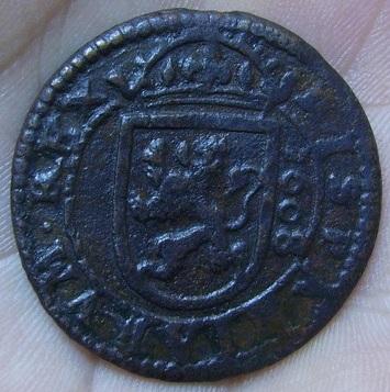 8 Maravedis 1608 Segovia Pict1213