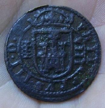 8 Maravedis 1608 Segovia Pict1214