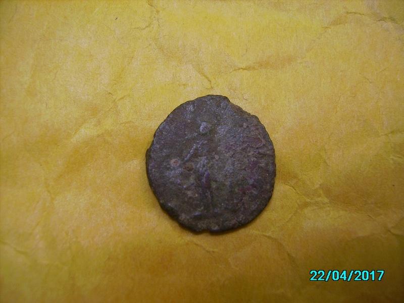 Denario de Galieno. VIRTVS AVGG. Marte (o Galieno) estante a izq. Ceca Viminacium. Pict1311